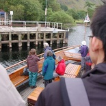 docking at one of the mid stops