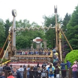 Ripsaw, a heavily themed top spin