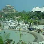 Overview of the Atlantis waterpark