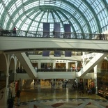 An atrium in the Emirates mall