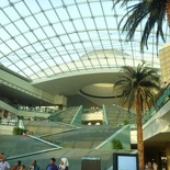 The mall main atrium