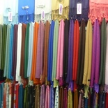 Various cloth on display
