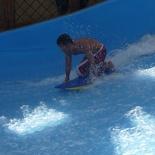 Knee surf!