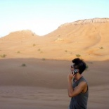 Please top up $10,234.89 for roaming charges in the desert