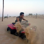 Hitting the dunes!