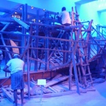 Such as Dhow boat building