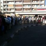 Omg, the Abu Dhabi ticket queue...