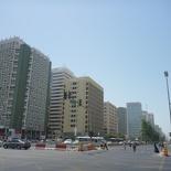 The general town area around Al Markaziyah