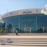 The entrance of the Marina mall