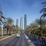 Enroute along Sultan Bin Zayed Street