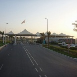 Entrance to the circuit