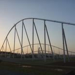the world's fastest hydraulically-launched roller coaster (Formula Rossa)