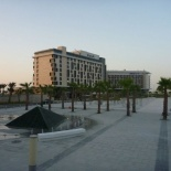 The nearby Yas island hotels