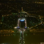 The Palais de Chaillot, awesome at night!