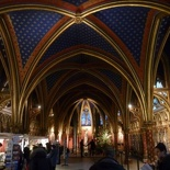 Inside the lower chapel