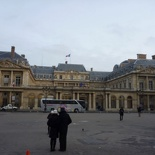 Just across the Palais Royal