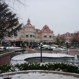 The Disneyland park