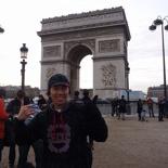The Arc de Triomphe!