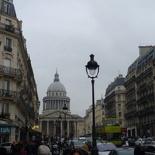 On Rue Soufflot street!