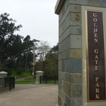 Here we are at the east end of the golden gate park