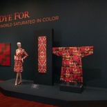 the fabric displays