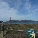 carrying on the Bay Trail
