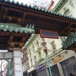 This marks the start of Chinatown