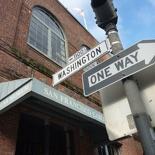along Washington Street
