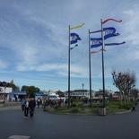 the pier side walk