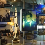 covers Kennedy's push for space