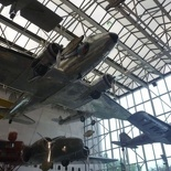 the atriums are decked with overhead planes