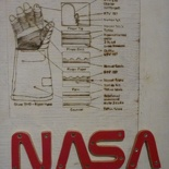 schematic of a space glove