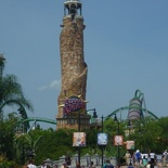 At the Islands of adventure!