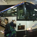 On the express bus to Miami