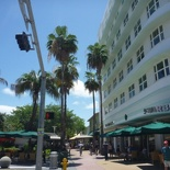 chilling out at Lincoln Road mall!