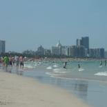 the beach line