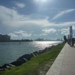 The Miami Harbor Entrance