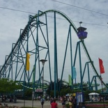 an Awsum B&M inverted coaster