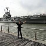 Aircraft carrier USS Intrepid!