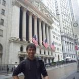 US main financial district (NYSE behind)