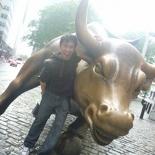 Speaking of bull, the Wall street charging bull!