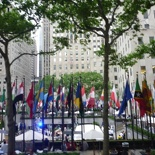 And poof we are at the Rockefeller Plaza