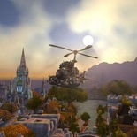 Flying over Stormwind