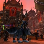Chilling in Orgrimmar