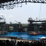 the waterworld stage