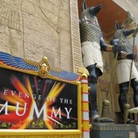 The Mummy revenge ride entrance