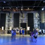 the spaces on the exhibit floor
