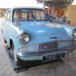 and the flying Ford Anglia