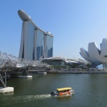 The Marina Bay Reservoir