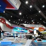 Exhibition indoor area